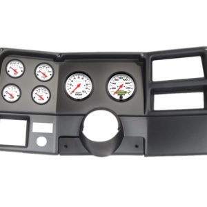1973-83 Chevy / GMC Truck Black Dash Panel with Phantom Electric Gauges