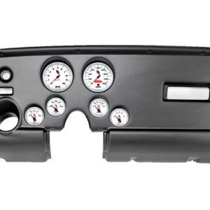1969 Firebird Black Dash Panel with C2 Electric Gauges