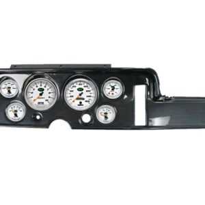 1968 Pontiac GTO / LeMans Carbon Fiber Dash Panel with NV Electric Gauges