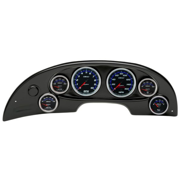 1994-04 Ford Mustang Black Dash Panel with Cobalt Electric Gauges
