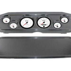 1969-70 Mercury Cougar Carbon Fiber Dash Panel with Phantom II Electric Gauges