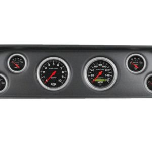 1960-63 GMC Truck Black Dash Panel with Sport Comp Electric Gauges