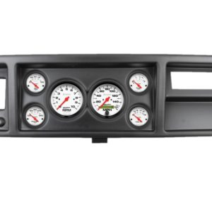 1973-79 Ford Truck Black Dash Panel with Phantom Electric Gauges