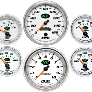Autometer NV Electric 6 Gauge Set