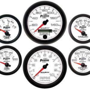 Autometer Phantom II Electric 6 Gauge Set