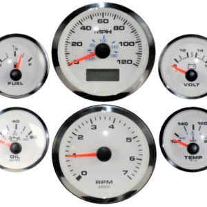Elite Series White Premier Electric 6 Gauge Set