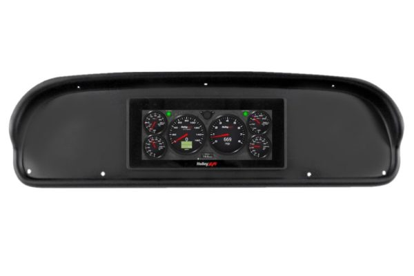 """1957-60 Ford Truck HOLLEY 6.86"""" Dash Panel Bundle"""