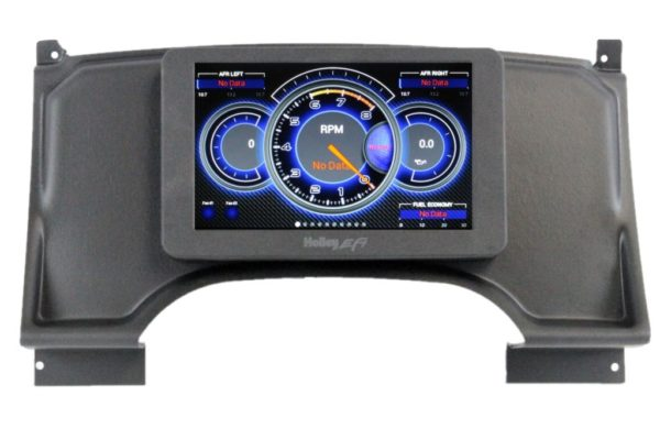 """1994-97 Chevy S10 Truck HOLLEY 7.5"""" Dash Panel Bundle"""