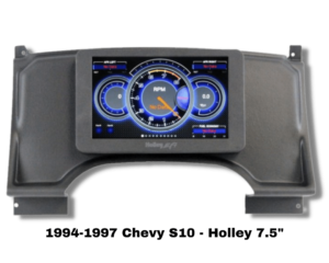 94-97 Chevy S10 Replacement Dash for Holley 7.5 Digital Dash