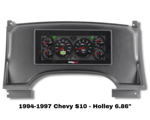 94-97 Chevy S10 Replacement Dash for Hooley 6.86 Digital Dash